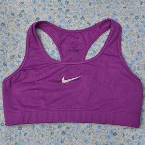 Nike Dri-Fit Sports Bra Bold Berry Purple Pink Med
